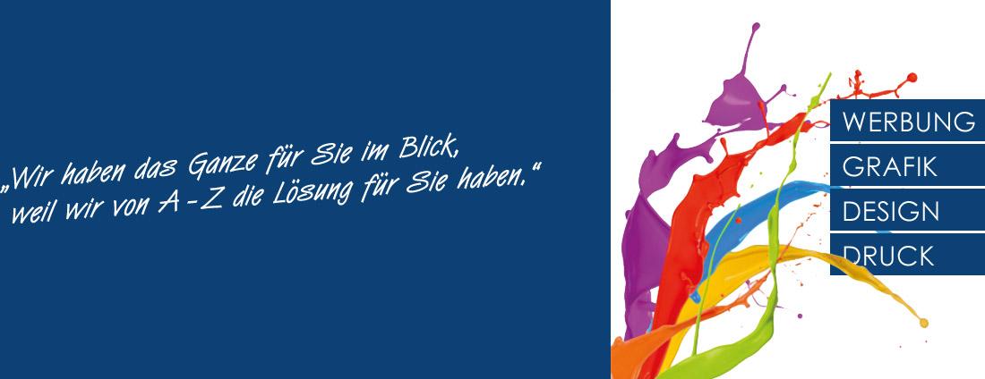 Werbung, Grafik, Design & Druck aus einer Hand seit 30 Jahren in Bochum